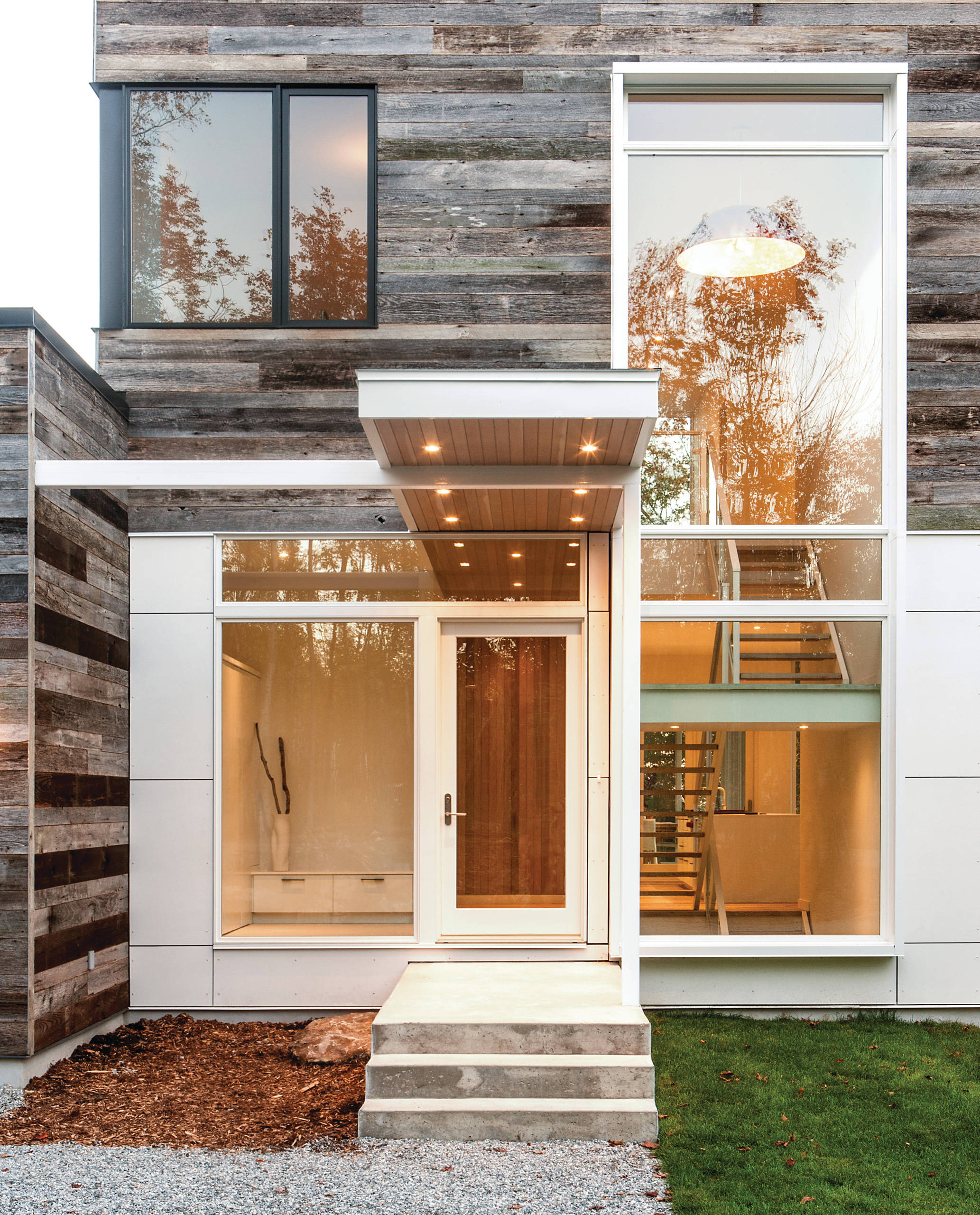 Home Design Ideas Modern: 16 Enchanting Modern Entrance Designs That Boost The