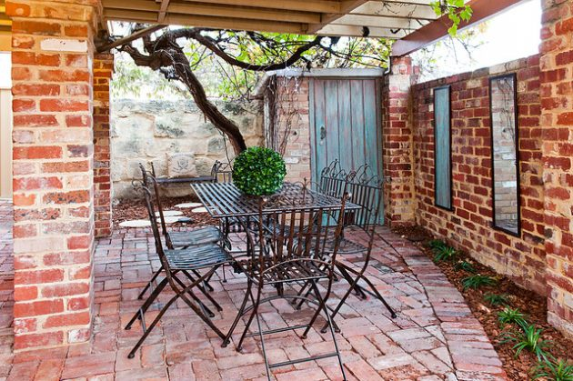 18 Brick Patio Designs To Improve The Look Of Your Exterior
