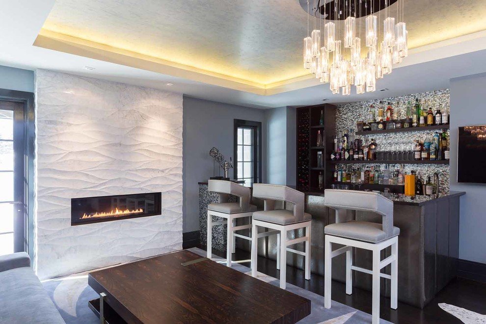 17 Fabulous Modern Home Bar Designs You'll Want To Have In Your Home Right Away