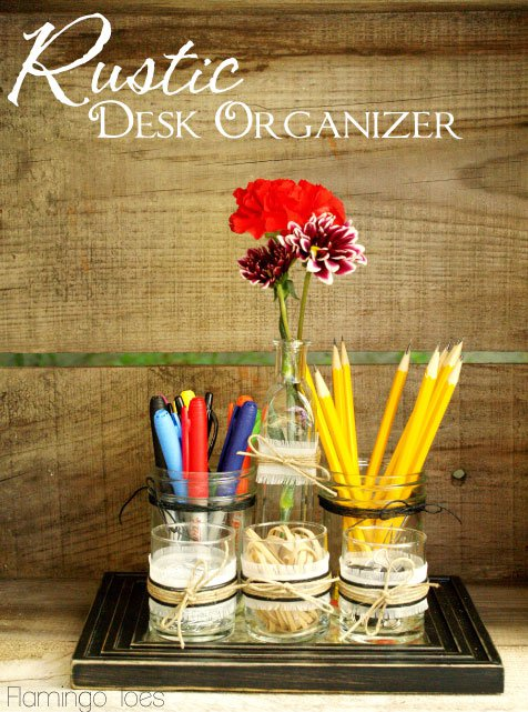 19 Super Cool DIY Desk Organizers For More Productive Work