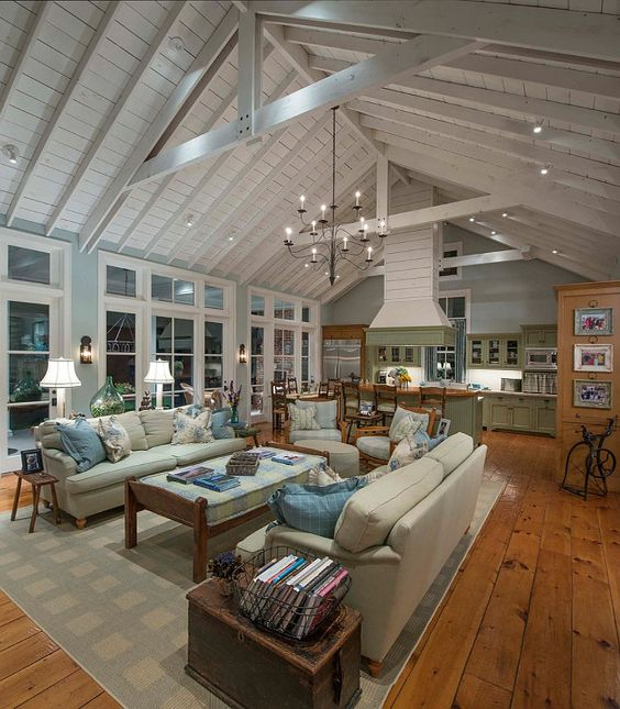 Home Design Ideas Build: 17 Charming Living Room Designs With Vaulted Ceiling