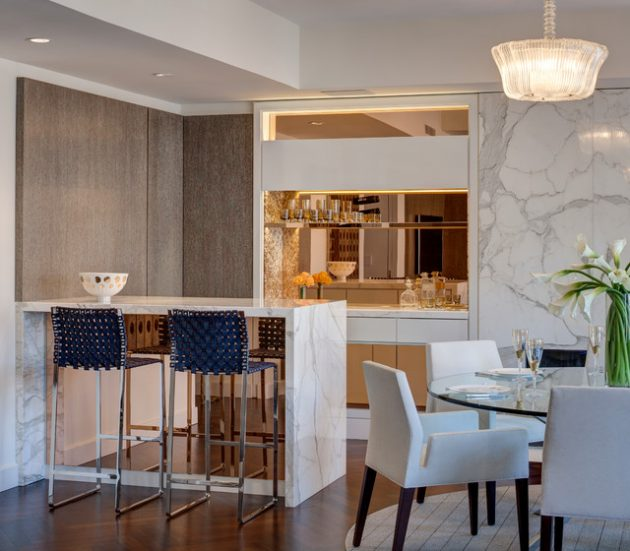 19 Really Beautiful Breakfast Bar Designs For Contemporary Homes