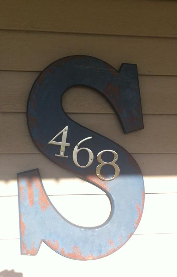 18 Fascinating Ways To Display Your House Number