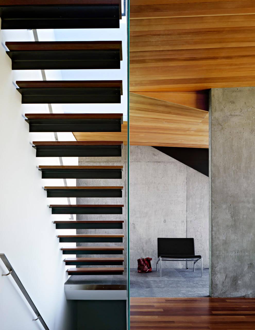 Modern House Design Interior Stairs