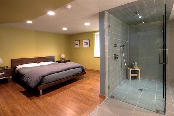 19 outstanding master bedroom designs with bathroom for full enjoyment Master bedroom with master bath layout