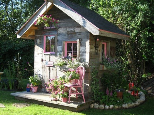 Designing and Constructing a Garden Shed