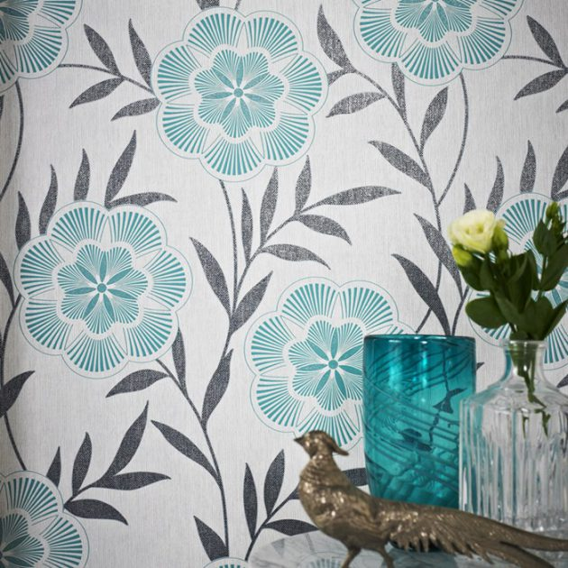 14 Stunning Floral Wallpaper Designs to Refresh Your Home Décor
