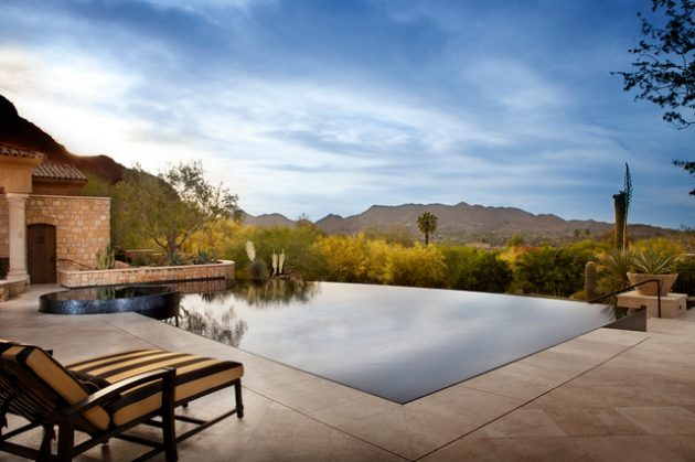 17 Magnificent Small Infinity Swimming Pool Designs To
