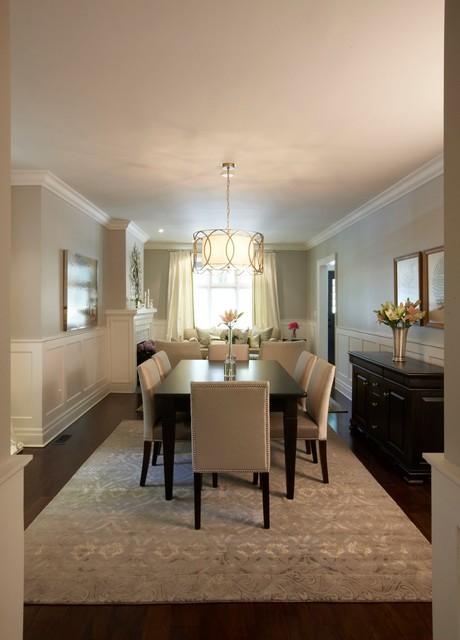 17 Precious Ideas To Decorate Your Big Spacious Dining Room
