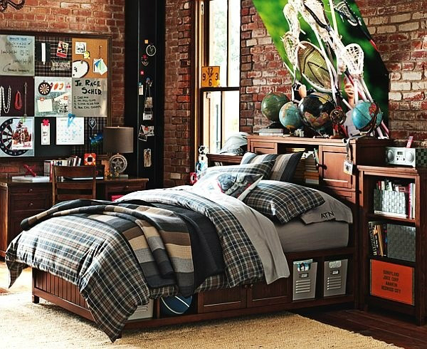 16 Captivating Childs Room Designs With Brick Walls