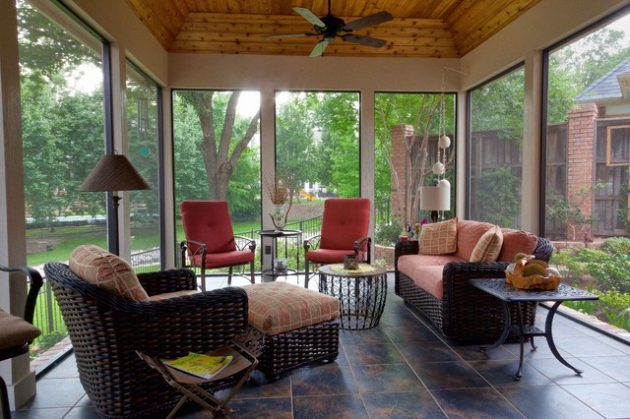 18 Remarkable Indoor Patio Designs For Utmost Enjoyment on Closed Patio Design id=82789