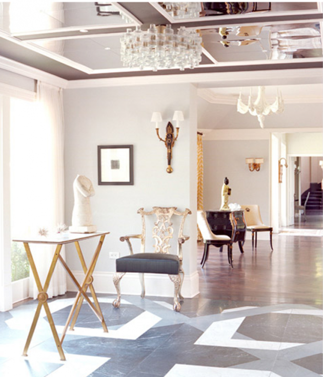 Ceiling Mirrors- Trend That Becomes Actual Again