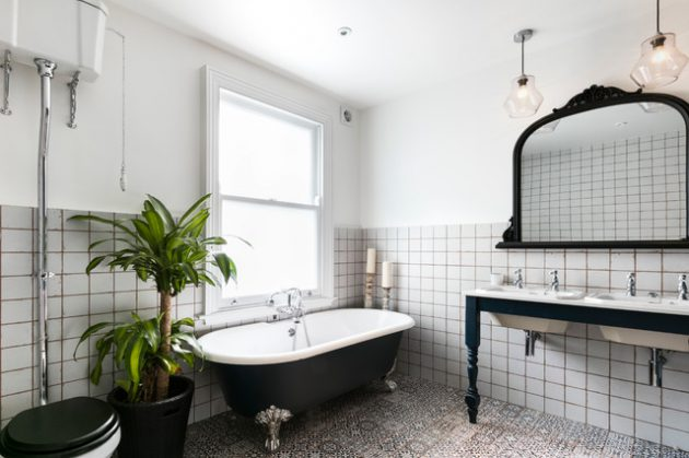 17 Great Ideas To Refresh Your Bathroom With Console Sink
