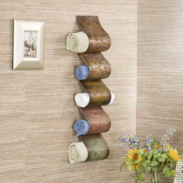 Really Inspiring DIY Towel Storage Ideas For Every Small Bathroom - Bathroom shelving ideas for towels for small bathroom ideas