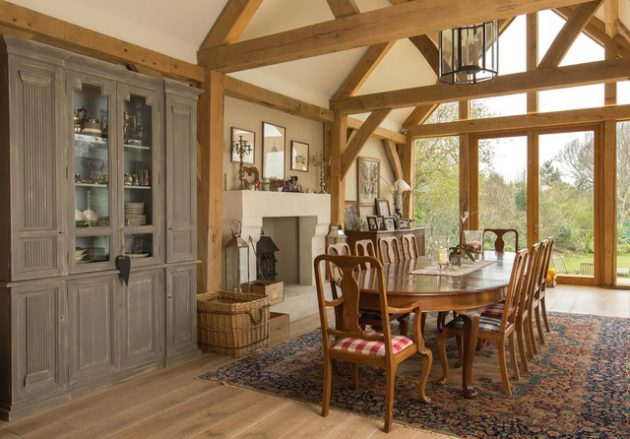 17 Charming Country Dining Room Designs That Abound With Warmth & Pleasant Feeling