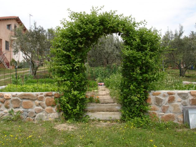 10 Amazingly Gorgeous Garden Entrance Designs To Enrich The Outer Look