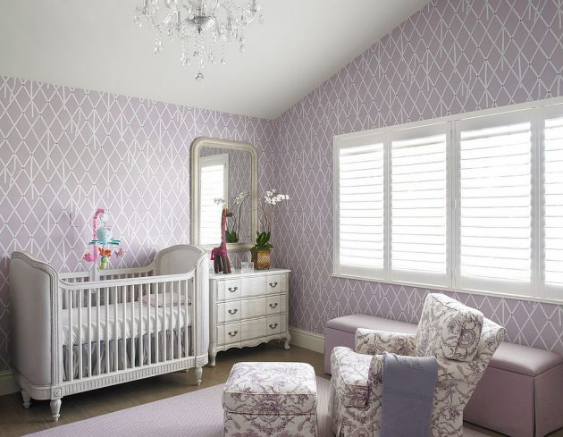 17 Gorgeous Purple Nursery Designs That Will Catch Your Eye