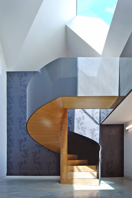 17 Classy Contemporary Staircase Designs To Beautify Your Living Space