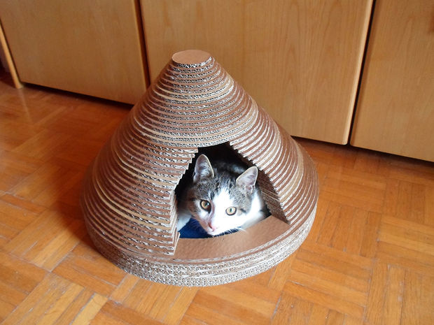 19 Most Amazing Ideas To Make Cool & Cozy Bed For Your Cat