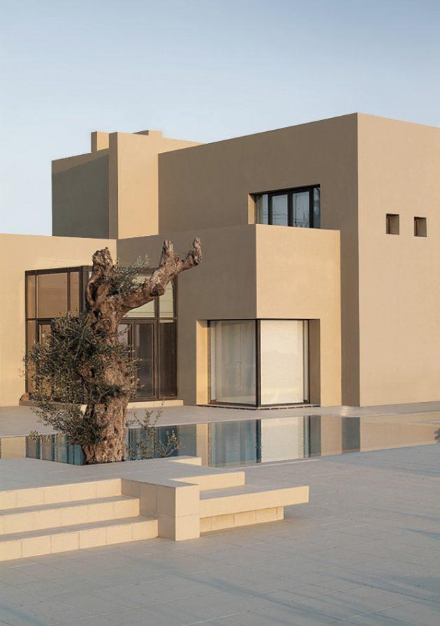 A Modern Masterpiece - The Abu Samra House by Symbiosis Designs LTD In Jordan