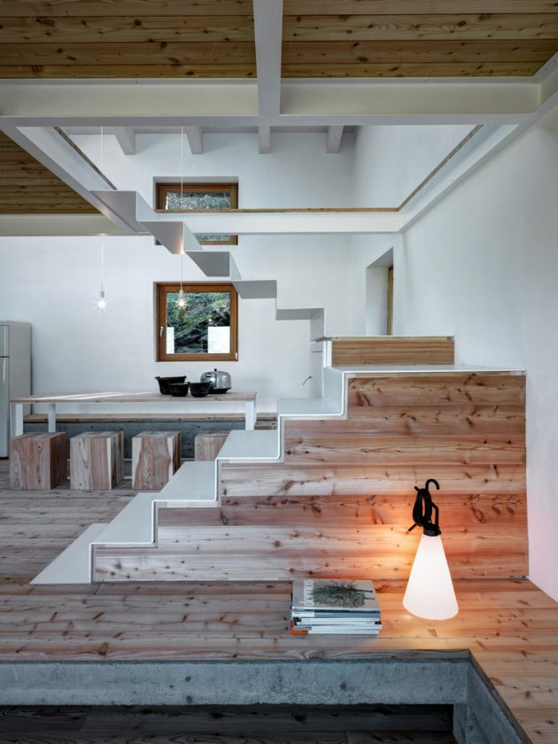 Casa Vi by EV+A Lab A Compact Home In Italy