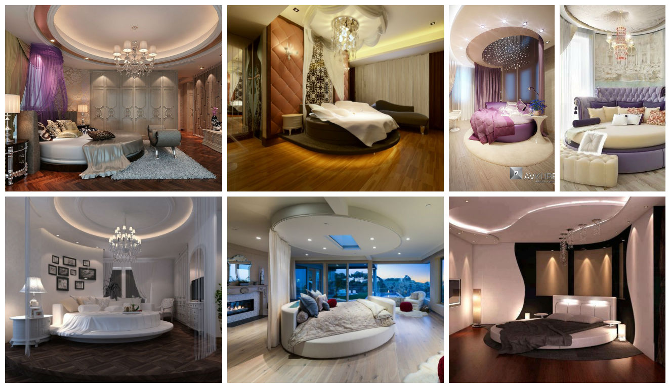 19 Extravagant Round Bed Designs For