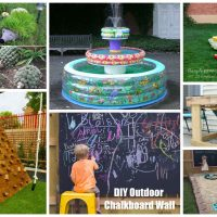 17 Super Fascinating DIY Backyard Projects To Provide More Fun For Your Kids