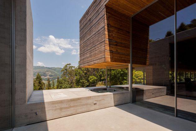 Gerês House by Carvalho Araújo - A Contemporary Residence In Portugal