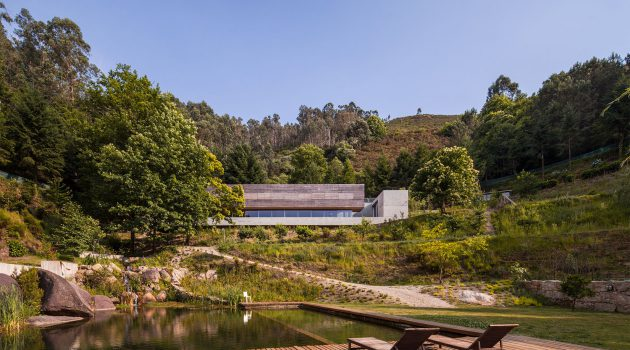 Gerês House by Carvalho Araújo – A Contemporary Residence In Portugal