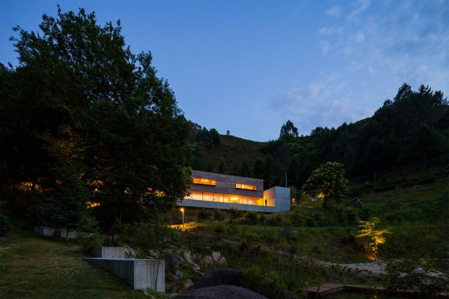 Gerês House by Carvalho Araújo   A Contemporary Residence In Portugal