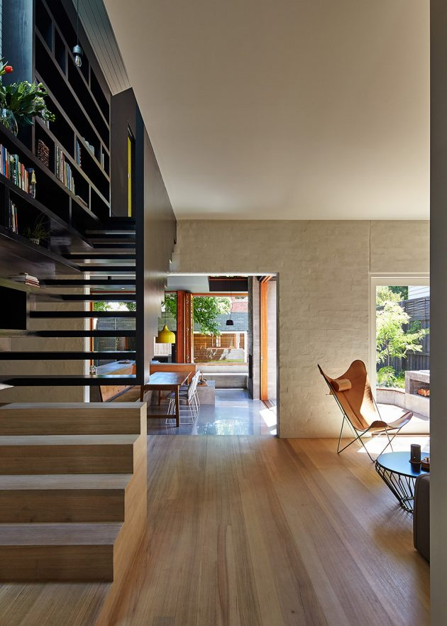Local House by MAKE Architecture A Tiny Modern House In Australia