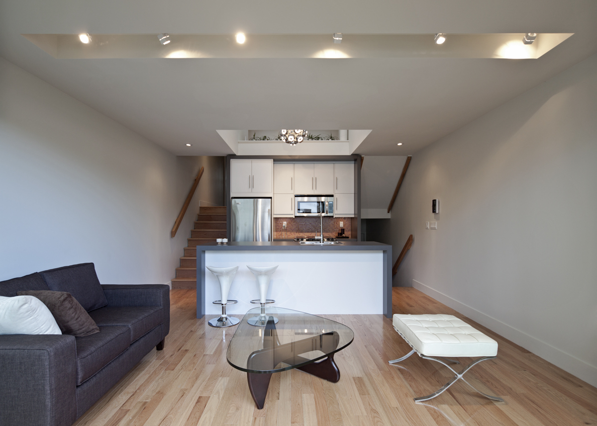Shaft House A Compact Home In Toronto By Atelier Rzlbd