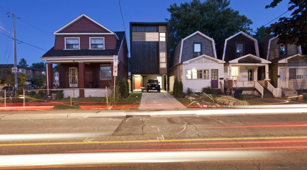 Shaft House – A Compact Home In Toronto By Atelier rzlbd