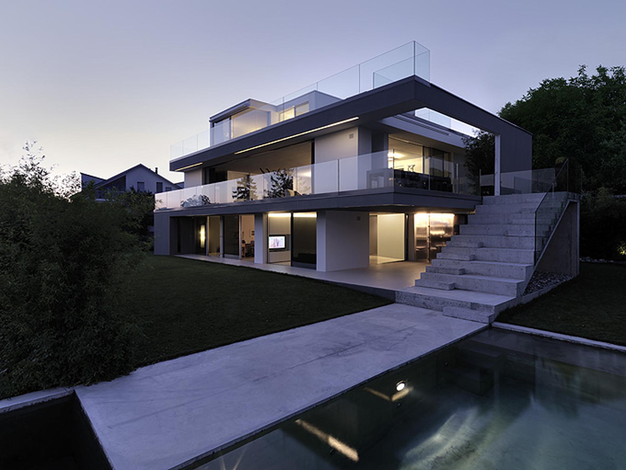 Modern Architecture Zurich feldbalz housegus wüstemann architects in zurich