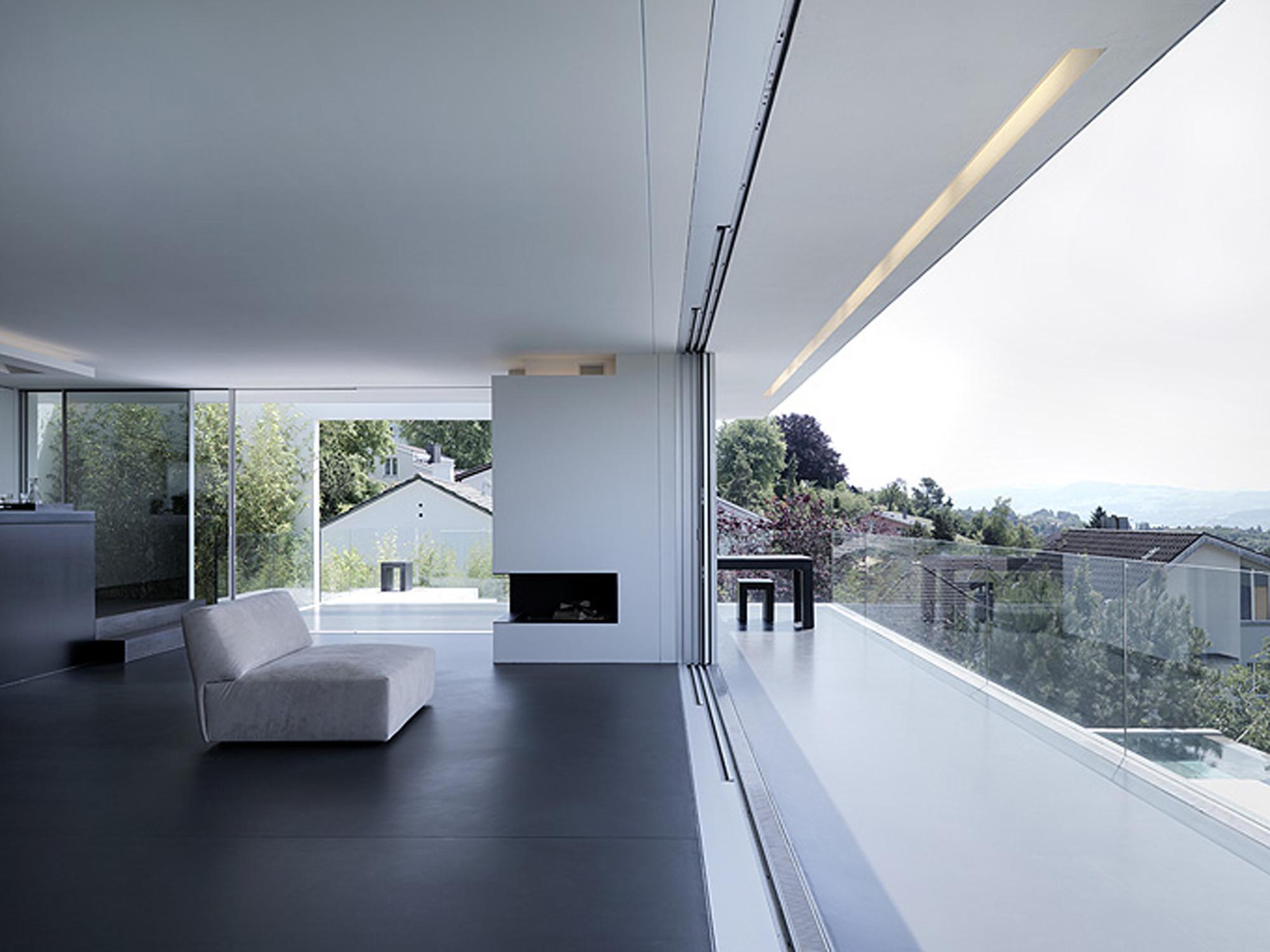 The feldbalz house by gus w stemann architects in zurich for Home decor zurich