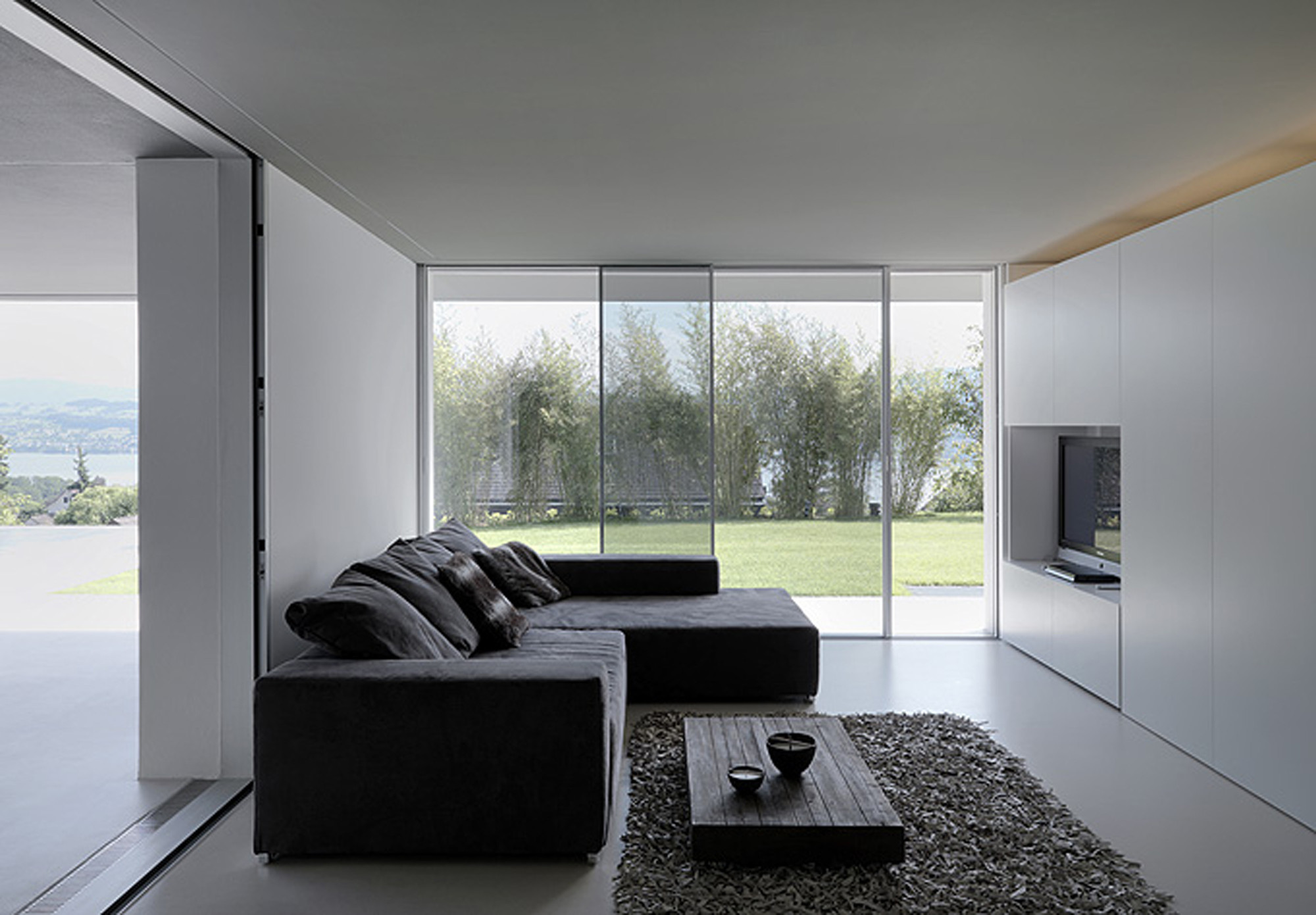 The feldbalz house by gus w stemann architects in zurich for Case interni da sogno