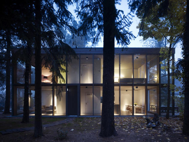 The Minimum House By Scheidt Kasprusch Architekten In Klausdorf