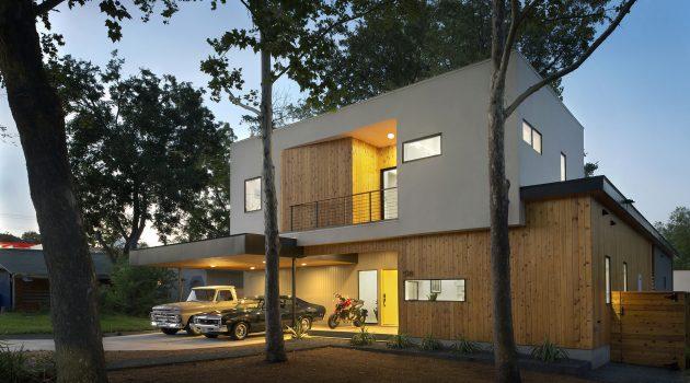 Tree House By Matt Fajkus Architecture in Austin, Texas