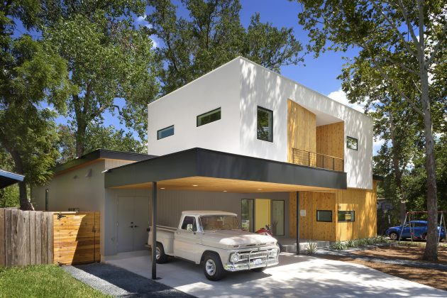 Tree House By Matt Fajkus Architecture in Austin, Texas