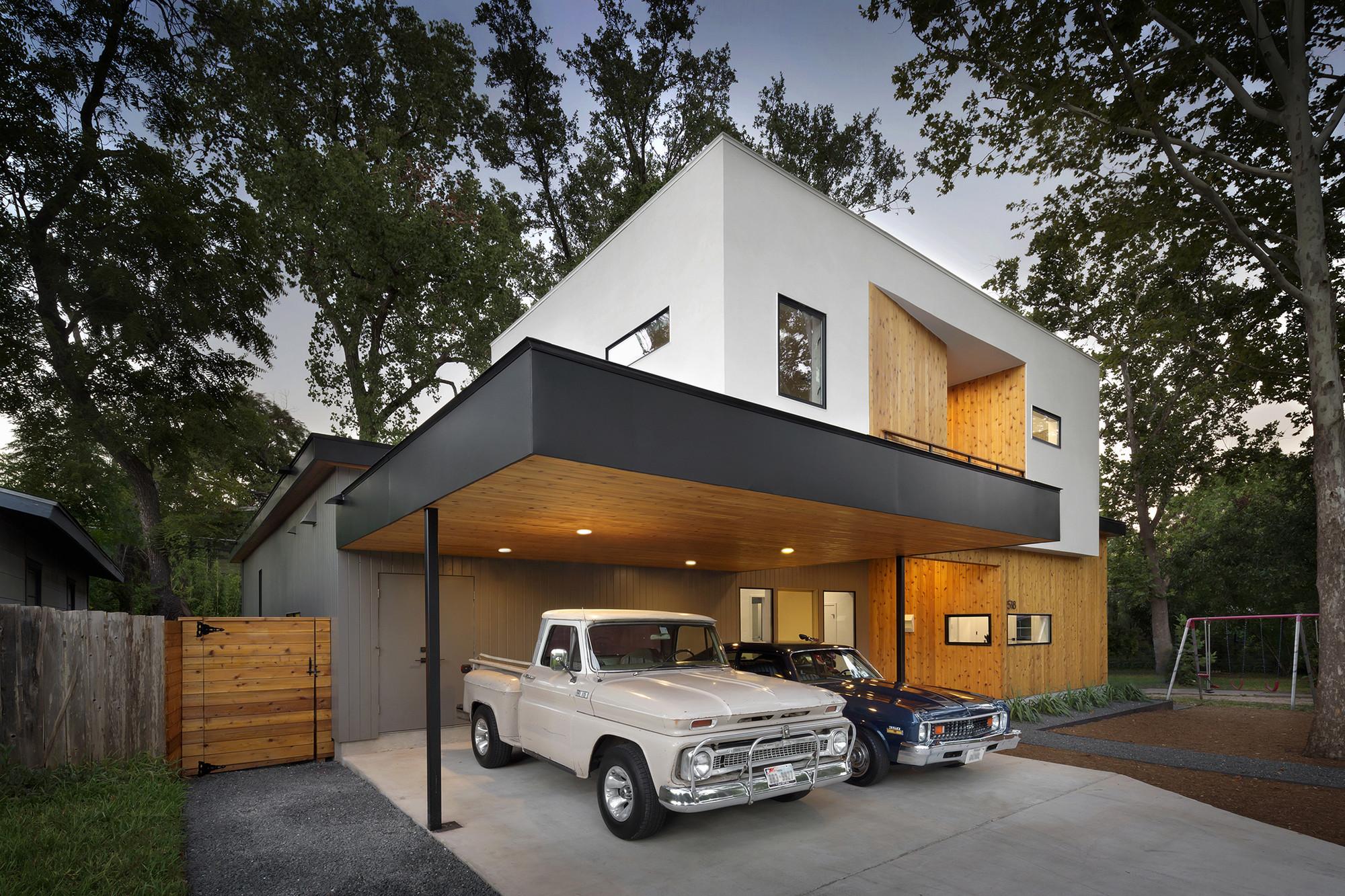 Tree house by matt fajkus architecture in austin texas for Austin house