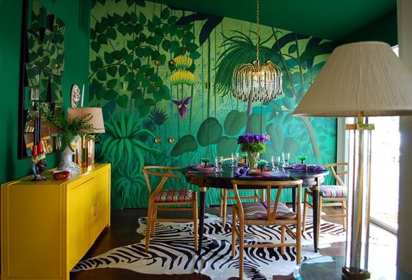Divine Tropical Wall Murals To Enter Summer In The Home