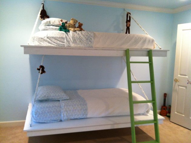 10 Extraordinary Bunk Bed Designs For Small Childs Room