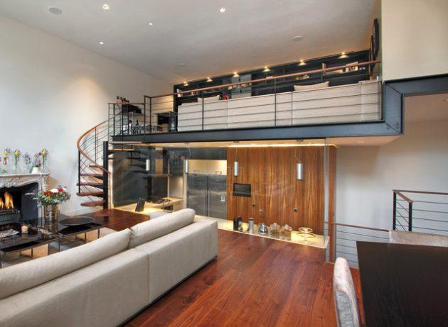15 Interesting Mezzanine Living Room Designs That Will