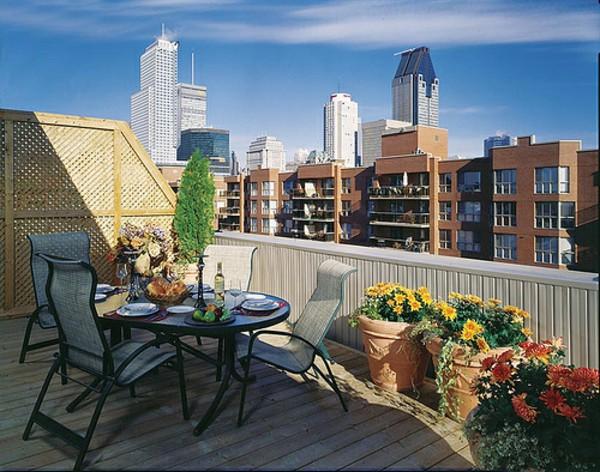 18 Charming Balcony Dining Room Designs For Better Summer Enjoyment