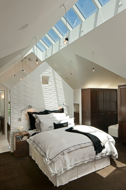 16 Astonishing Bedrooms With Skylights That Everyone Will Adore