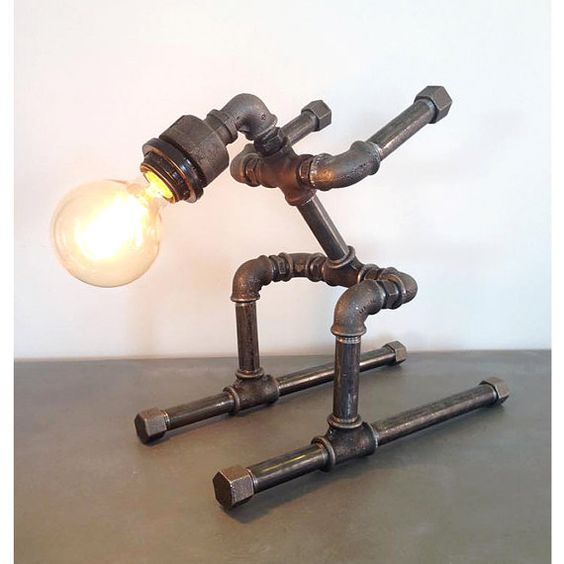 20 Extravagant DIY Lamp Designs With Industrial Charm
