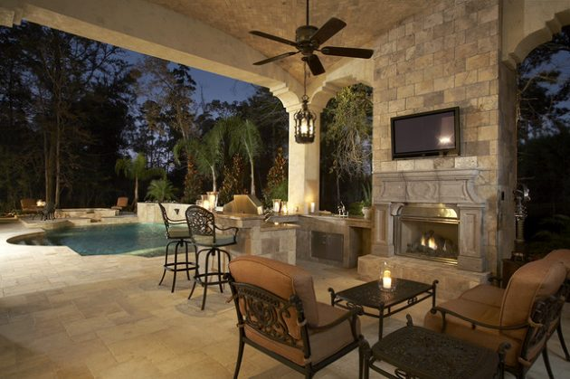 19 Beautiful Patio Designs With Tile Flooring That Will Impress You