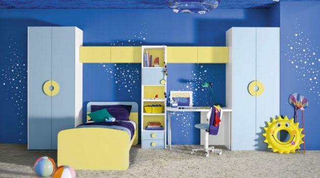 16 Joyful Child's Room Designs With Blue & Yellow Tones