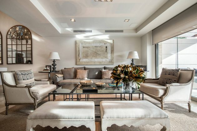 15 Beautiful Mediterranean Living Room