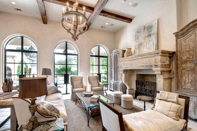 15 Beautiful Mediterranean Living Room Designs You'll Love